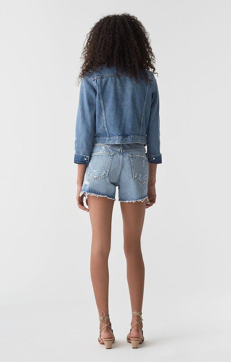 Micah Boyfriend Denim Shorts - Swapmeet-Agolde-Tucci Boutique