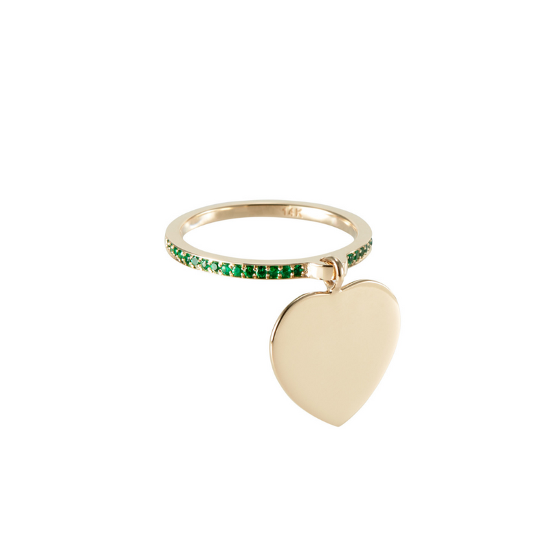 Dolce Amore Ring by Paola Incisa di Camerana - Emerald