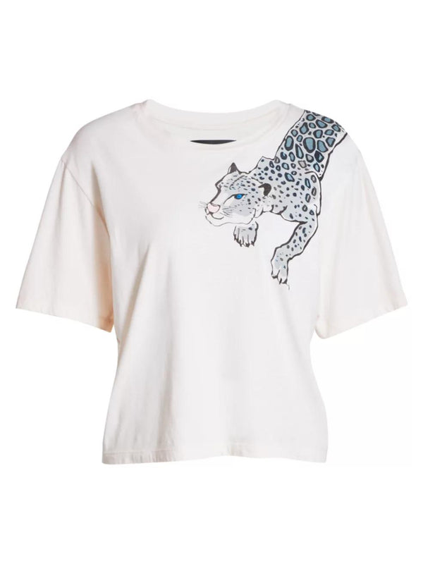 Painted Lil' Leopard Tee-Le Superbe California-Tucci Boutique