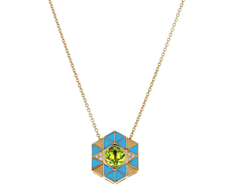 Evil Eye Pendant Necklace Necklace-Harwell Godfrey-Tucci Boutique