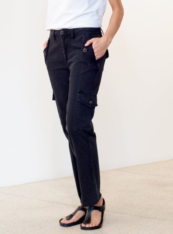 Bond Girl Pant - Washed Black-Le Superbe California-Tucci Boutique