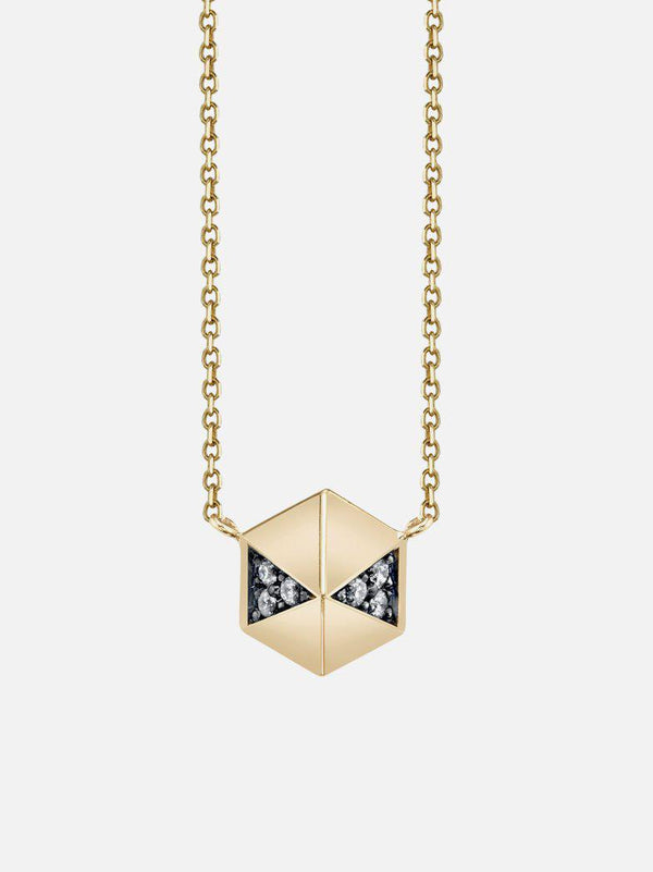 Pyramid Stud Necklace-Harwell Godfrey-Tucci Boutique