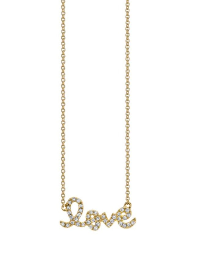 Small Love Necklace-Sydney Evan-Tucci Boutique