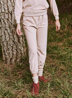 Velour Stadium Sweatpant - Carnation-The Great-Tucci Boutique