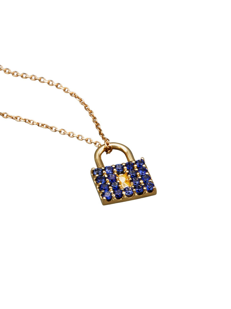 Gemma Padlock Necklace-Dolce Amore Ring by Paola Incisa di Camerana-Tucci Boutique