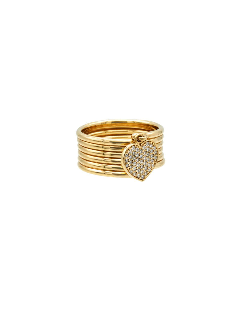 Arabella Pavé Ring-Dolce Amore Ring by Paola Incisa di Camerana-Tucci Boutique