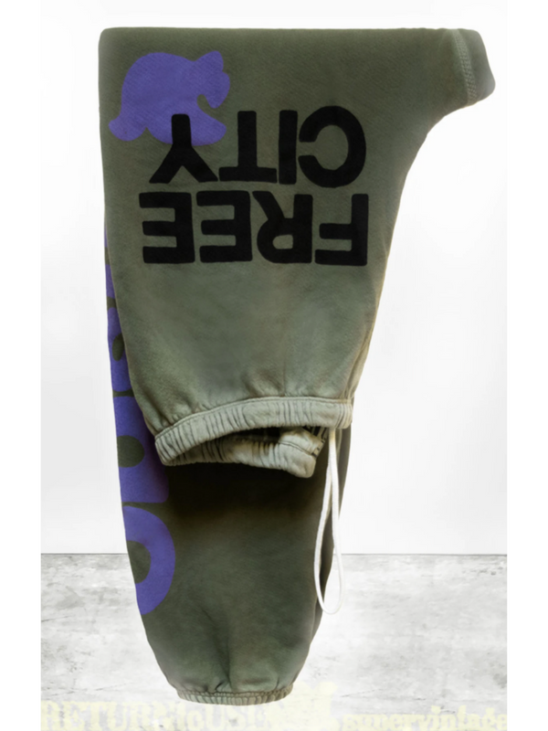LETSGO OG SUPERVINTAGE Sweatpants - Greendirt