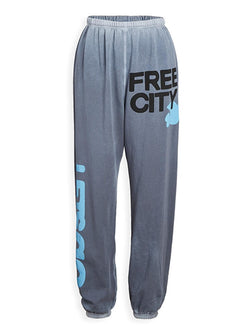 LETSGO OG SUPERVINTAGE Sweatpants - Dovesgrey-Free City-Tucci Boutique