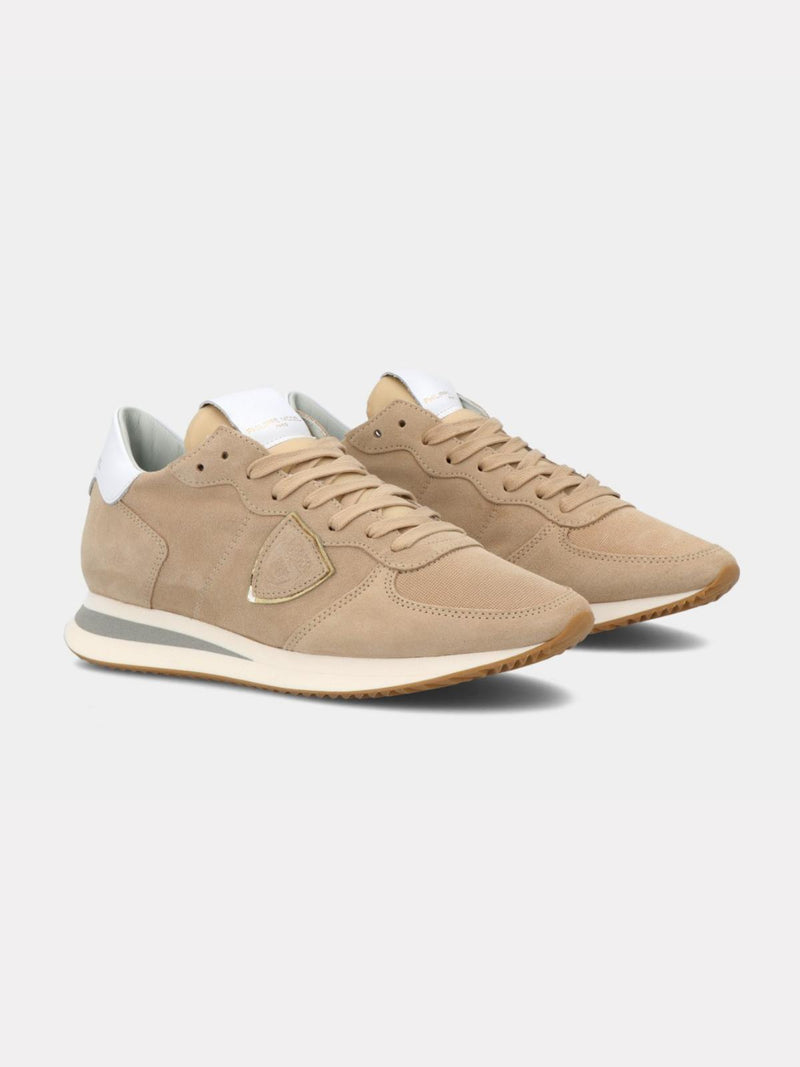 TRPX Daim Sneakers - Beige-Philippe Model-Tucci Boutique