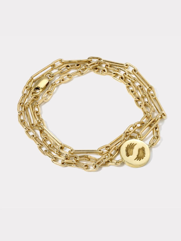 Bravery Triple Chain Wrap Bracelet-Retrouvai-Tucci Boutique