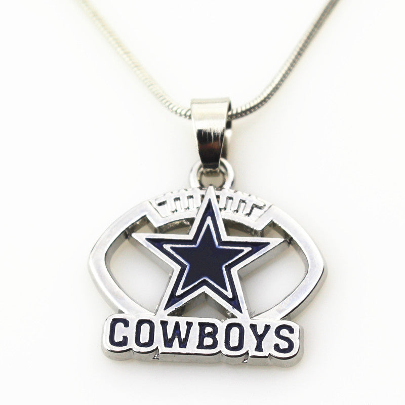Dallas cowboys pendant ballerlab dallas cowboys pendant aloadofball