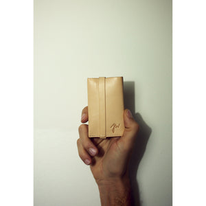 Unfolded Wallet /  Rectangle Natural