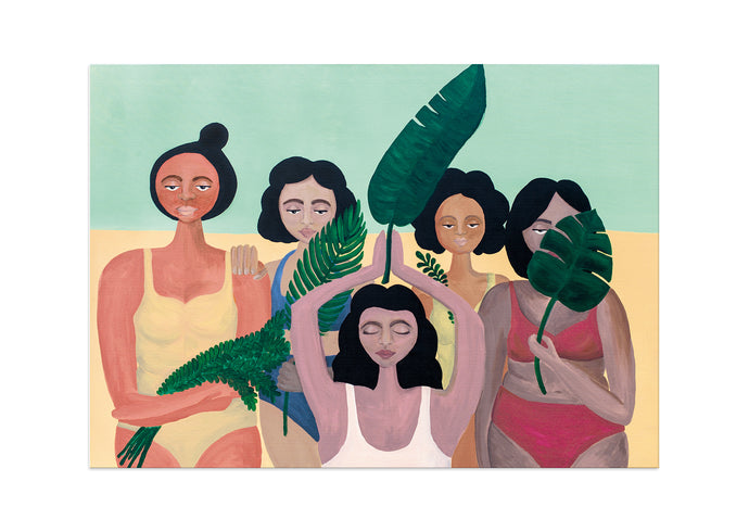 Women in the Jungle - Fine art print // XL
