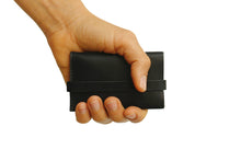 Unfolded Wallet / Rectangle Black