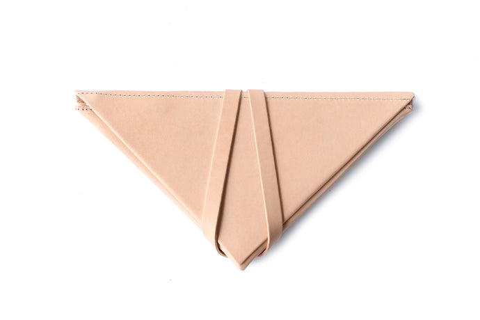 Unfolded Wallet / Triangle Natural