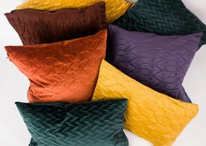Unfolded Cushions / Green