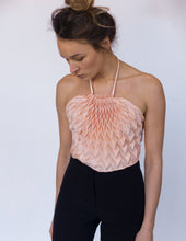 Unfolded Triangle Top / Rosé