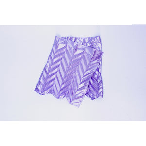Unfolded Skirt / Lilac