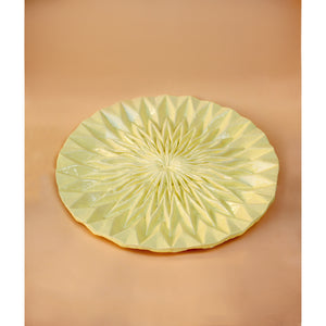 Unfolded Plate - Butteryellow