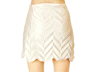 Unfolded Skirt / Cream