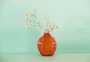 Unfolded Vase / red