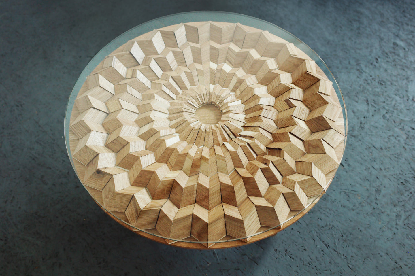 Unfolded Wooden Table