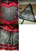 Corset strips ( size S ) 6-8