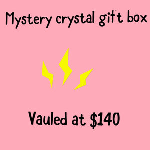 Mystery crystal gift box