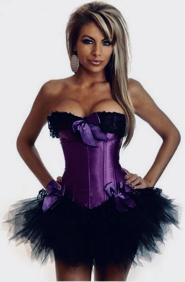 Corsets set light purple