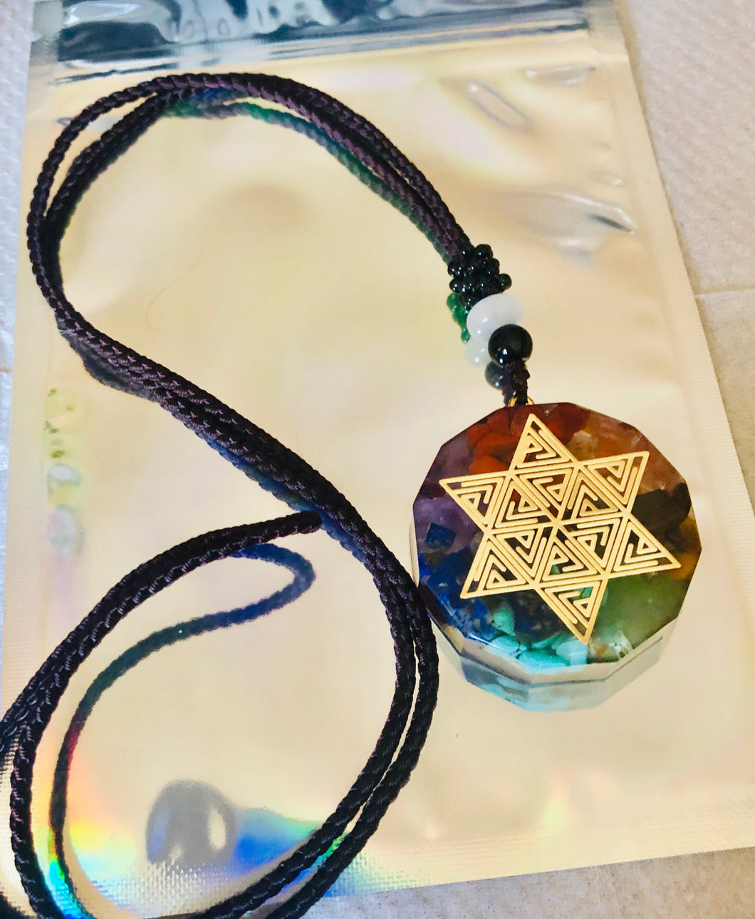 Chakra Healing Energy Necklace