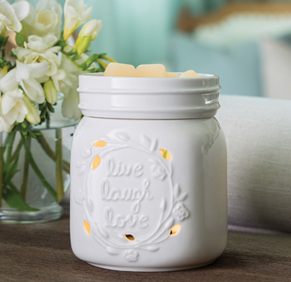 2-IN-1 FLICKERING FRAGRANCE WARMER