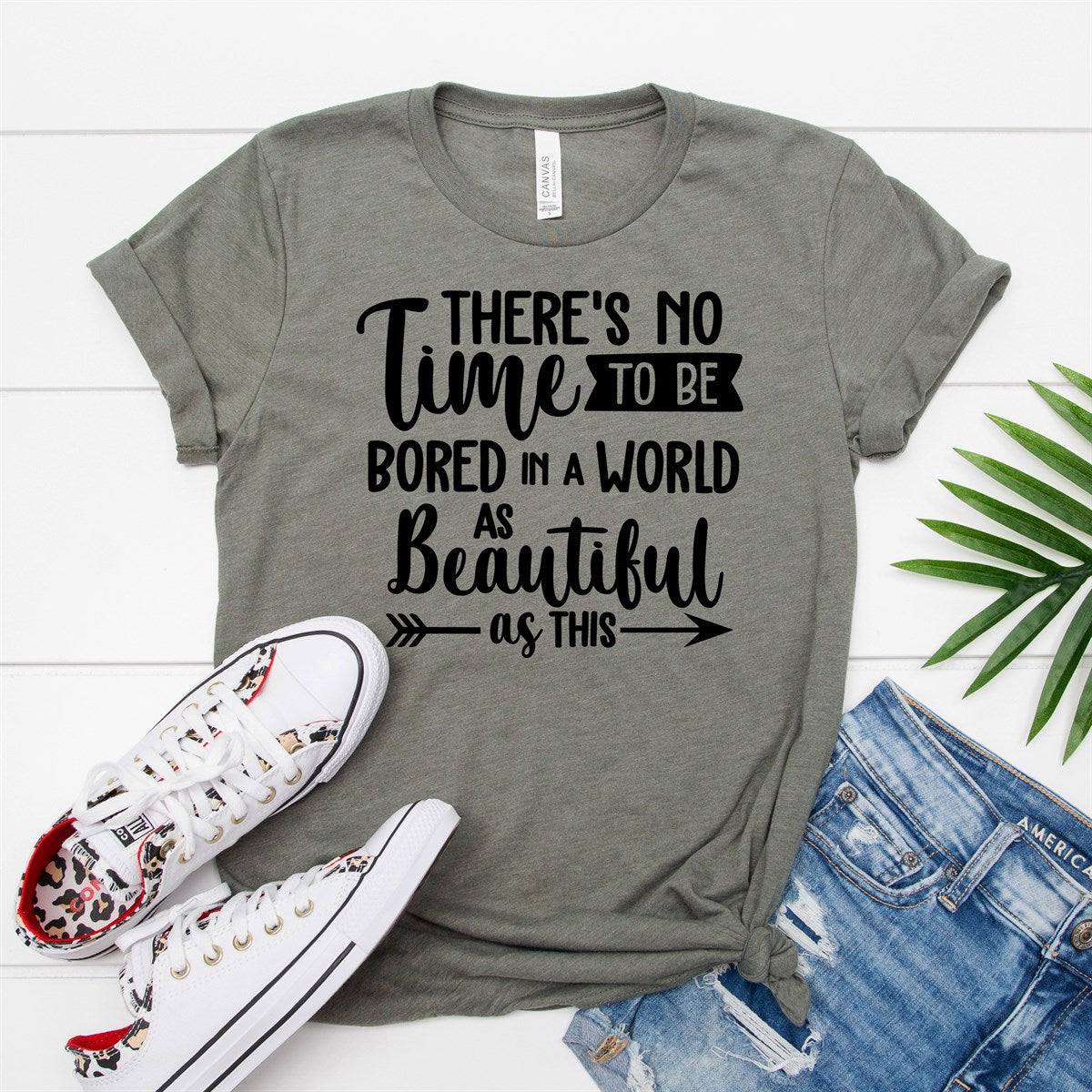 Beautiful World Tee - Limeberry Designs