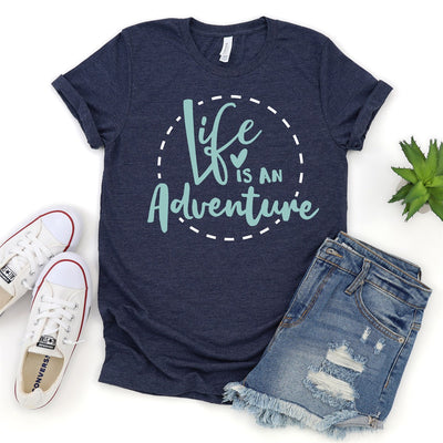 Life Is An Adventure Tee - Limeberry Designs
