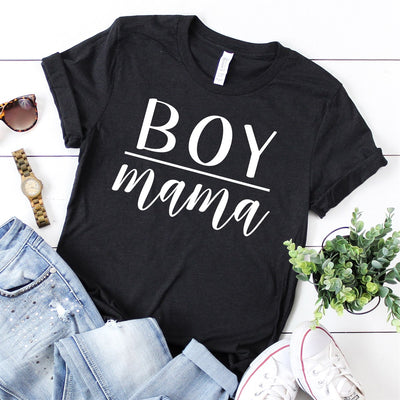 Boy Mama Tee - Limeberry Designs