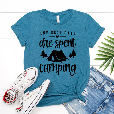 Best Days Are Spent Camping Tee