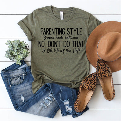 Parenting Style Tee - Limeberry Designs