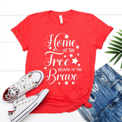 Home Of The Free Tee - Limeberry Designs