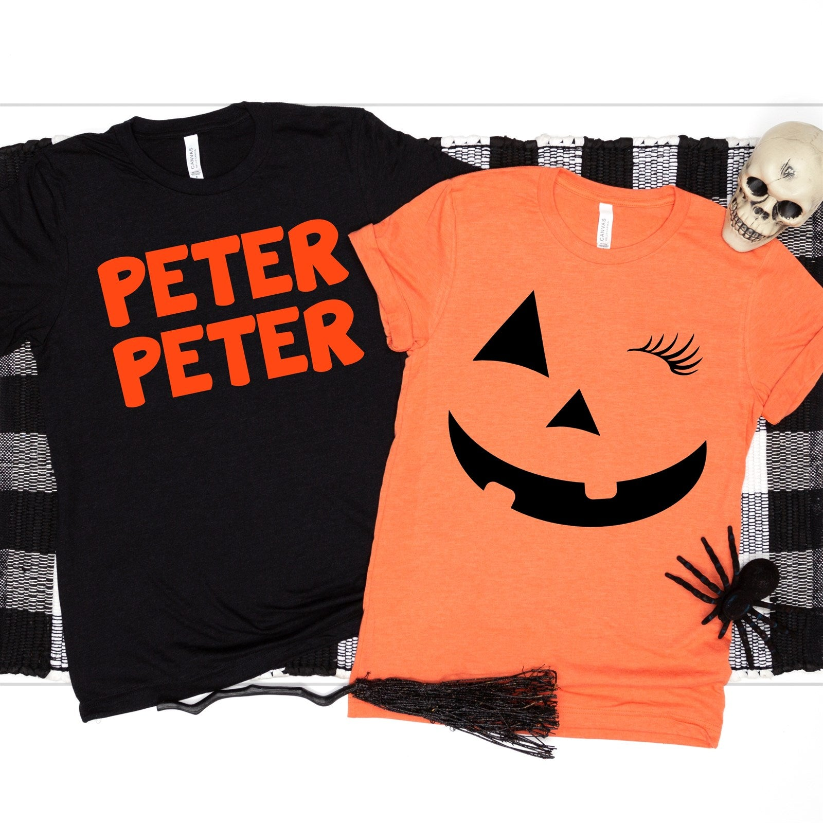 Peter Peter & Pumpkin Costume Tees