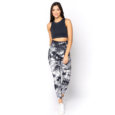 LUXE VIP TIE DYE 7/8 LEGGINGS - Limeberry Designs