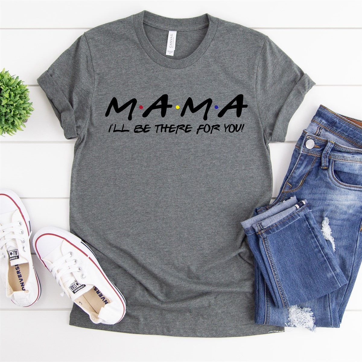 MAMA I'll Be There Tee - Limeberry Designs