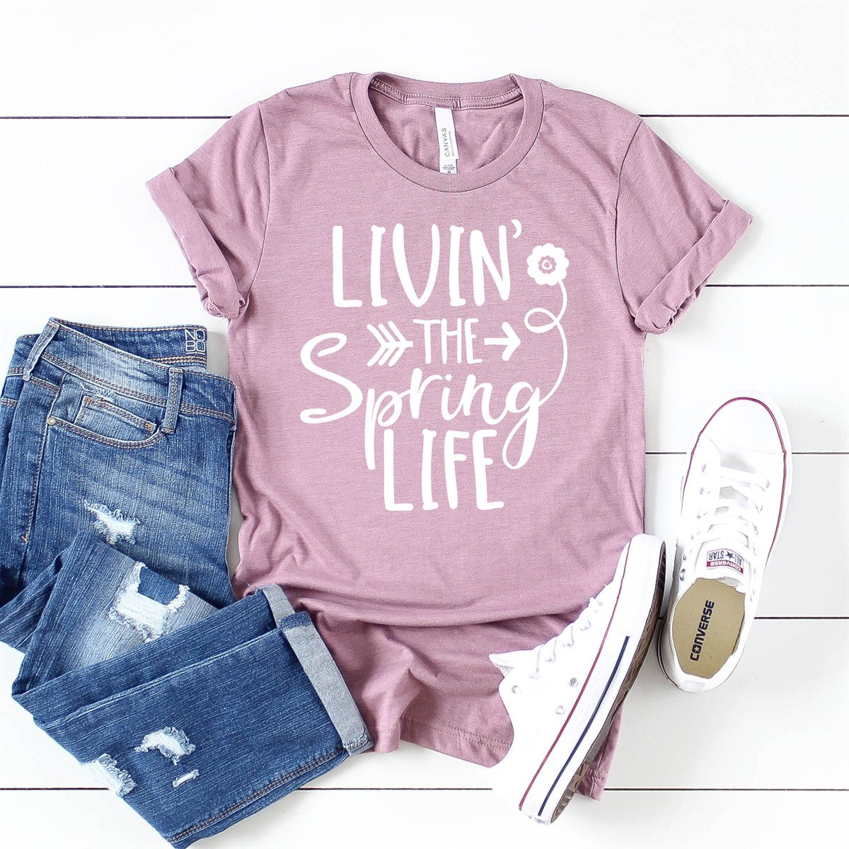 Spring Life Tee - Limeberry Designs