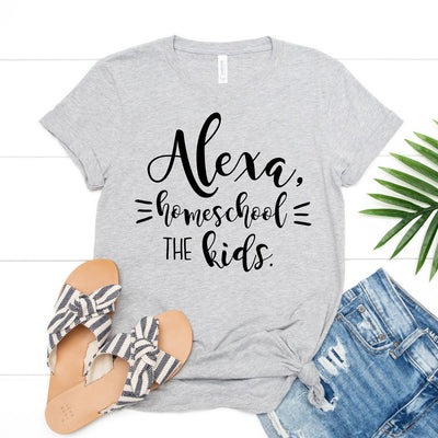 Alexa Homeschool My Kids Tee - Limeberry Designs