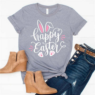 Happy Easter Bunny Tee - Limeberry Designs