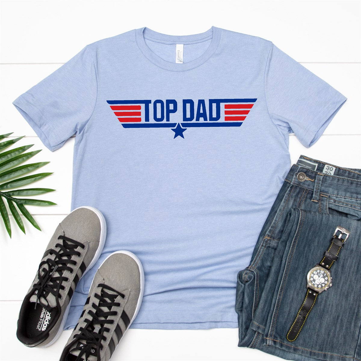 Top Dad Tee - Limeberry Designs