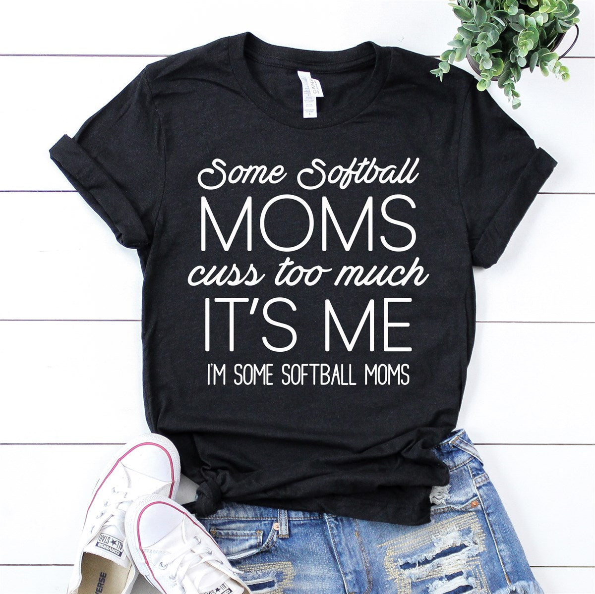 Softball Mom Tee - Limeberry Designs