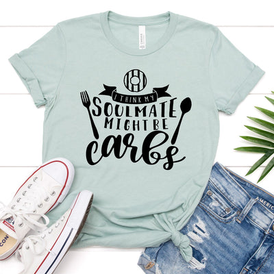 Carbs Soulmate Tee - Limeberry Designs