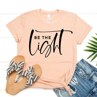 Be The Light Tee - Limeberry Designs