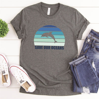 Save Our Oceans Tee - Limeberry Designs