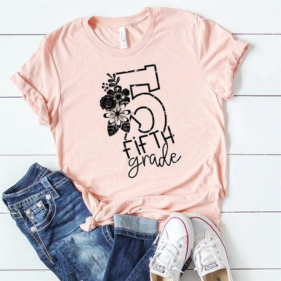 5th Grade Teacher Tee - Limeberry Designs