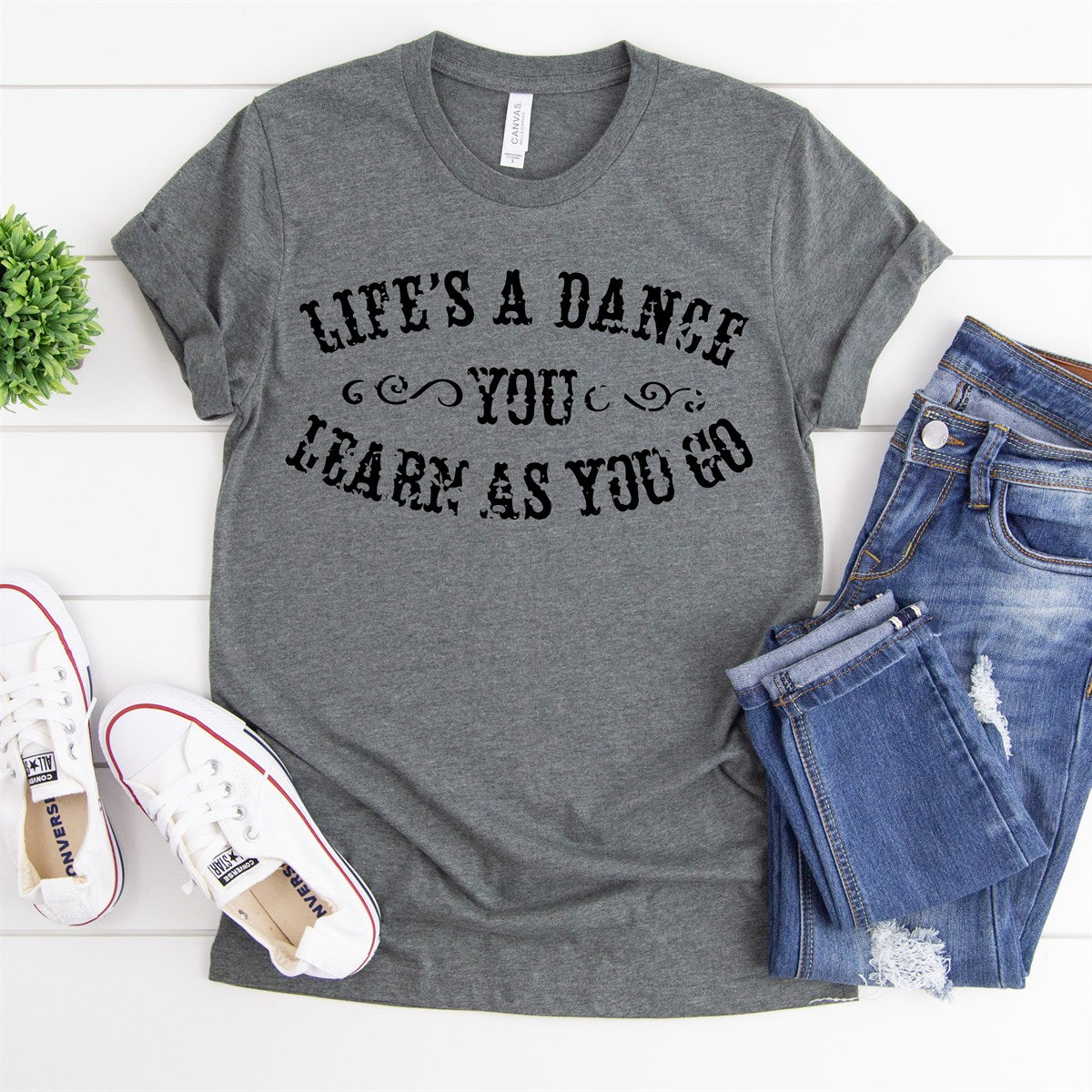 Life's A Dance Tee - Limeberry Designs